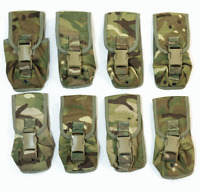 British army surplus MTP camouflage molle Osprey grenade pouches paintball