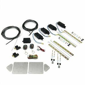 Universal Bolt On Shave Door Kit with 8 Channel Remotes AutoLoc AUTSVBCR8 truck