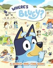 Bluey: Where's Bluey?: A Search-And-Find Book by Bluey (English) Prebound Book F