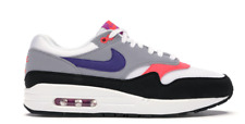 Nike Air Max 1 Raptors  White/Grey/Purple Women's Shoes size 9