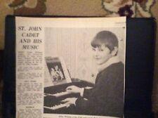 D9-1 Ephemera 1972 picture Julian Williams Redruth organ