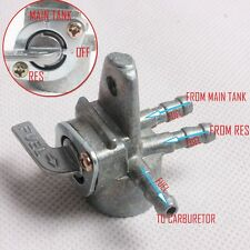 3-Port Gas Fuel Valve Switch Petcock For Motorcycle Dirtbike ATV