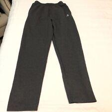 Champion eco Solid Gray Sweatpants Sweats Sz Large