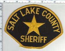Salt Lake County Sheriff (Utah) Green Background Uniform Take Off Shoulder Patch