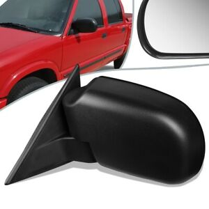 Fit 98-04 Chevy S10 GMC Sonoma OE Style Manual Side Door Mirror Left GM1320188