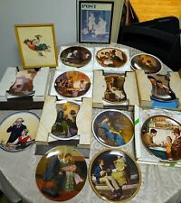 Norman Rockwell Mixed Collection & Framed Prints w/ Coas & Boxes (Set of 13)