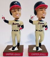 2 MLB ATL Atlanta Braves Bobbleheads Baseball Chipper Jones Retirement 2012 SGA