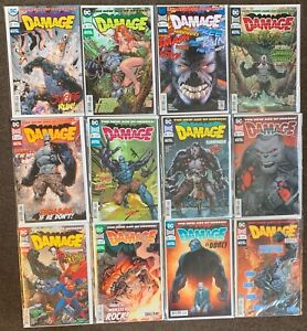 12 Damage 2,4,5,6,7,8,9,10,12,15,16 annual 1 DC Comics The New Age of Heroes lot