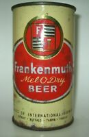 Old FRANKENMUTH FLAT TOP BEER CAN Buffalo, New York Detroit, Tampa, Findlay