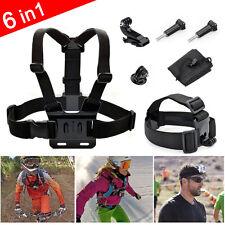 Head Strap Mount helmet Chest Harness for GoPro HD Hero 5 4 3+ 3 2 1 Accessories