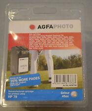 (PRL) AGFAPHOTO HP 78 CARTUCCIA INCHIOSTRO INK CARTRIDGE COLOUR 45 ML PHOTO FAX