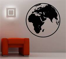 Globe World Map Muro ARTE Adesivo Vinile Lounge Kids