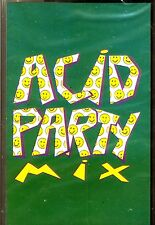 CAS - ACID PARTY MIX - VARIOUS (ACID DANCE MIXED) SPANISH EDIT.1989, MINT SEALED