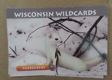 Wisconsin Wildcards, Weasels, Furbearers, 3-1/2X 2-1/2