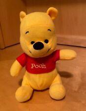 "Disney Pooh Bear Plush Stuffed Animal Toy 7"" Sitting"