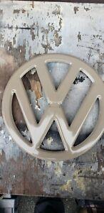 55-67 vw Volkswagen bus transporter bus nose body emblem  type 2 van garage art