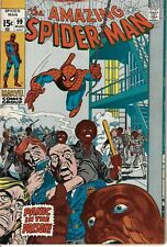 Amazing Spider-Man 99 Johnny Carson Gwen VG/F 1971 Glossy