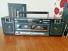 Retro 80's AIWA CA-W30  Cassette Radio Stereo - Speakers Carry System  Boombox