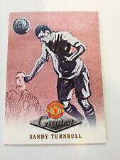 Manchester United Futera Platinum 1999 Greatest Card (ST)