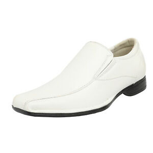 Men's Formal Dress Oxford Shoes Classic Square Toe Slip On Loafer Shoes US Size