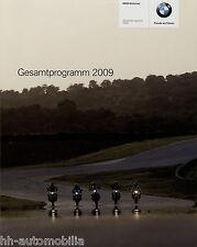 Prospekt BMW Motorräder 2009 F 800 GS Megamoto HP2 1200 RT 800 ST brochure 11 08