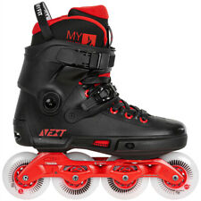 Powerslide Next 80mm Fitness Recreation Inline Skates Dual Mens Size 6.0/7.0 NEW