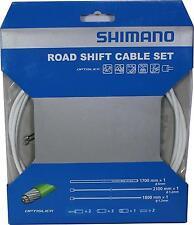 Workshop Made Shimano Optislick Sp41 Road Shift Cable Set Gear Y60198030 White