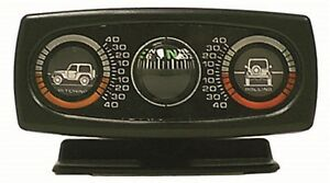 Clinometer with Compass Pitch And Roll Meter Rugged Ridge 13309.01