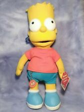 """The Simpsons 18"""" BART Plush Stuffed Toy 2002 Applause (300th Episode Edition)"""