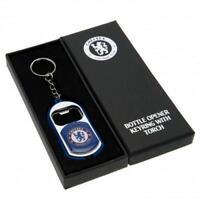 Chelsea F.C. Key Ring Torch Bottle Opener gift fan xmas