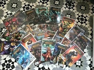 World of Warcraft Comic Books collection  - lot of 37
