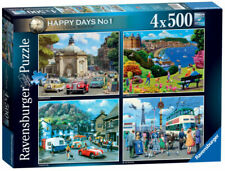 Ravensburger Happy Days Collection No.1 Look North - 4 x 500 Piece Jigsaw...