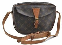 Authentic Louis Vuitton Monogram Jeune Fille Shoulder Bag LV B3857