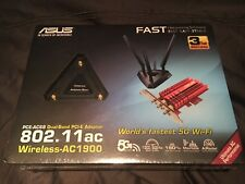 ASUS PCE-AC68 Next Generation Dual-Band Wireless-AC1900 PCIe Adapter, High-Power
