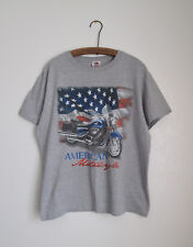 American Motorcycle Cotton Blend Mens T-Shirt Size Large