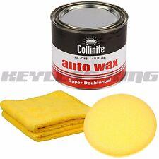 Collinite 476 18oz Large Auto Wax Carnauba 476S Applicator Pad Microfiber Towel