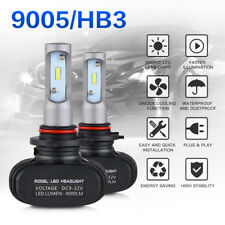9005 HB3 LED Headlight Bulbs Conversion Kit Car Fog Light High Low Beam 8000LM