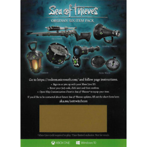 [BEST SELLER 100++ SOLD] Sea of Thieves Obsidian Six Pack DLC XBOX Windows 10