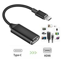 4K USB-C Type C to HDMI Adapter USB 3.1 Cable For MHL Android Phone Tablet