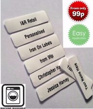 New Printed iron-on School Name Tapes Name Tags Labels * Quality School Labels