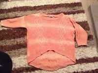 GEORGE CORAL/PEACH  Jumper Size 18