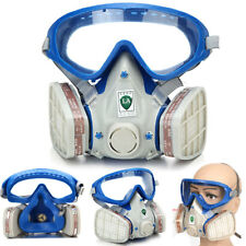 Double Filter Dust Protector Full Face Gas Mask Breath Painting Respirator