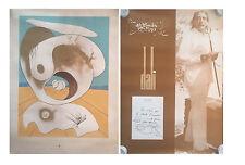 "TWO - SALVADOR DALI from the portfolio of ""LA CONQUETE DU COSMOS "" 1974"