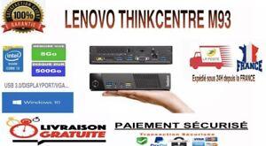 LENOVO THINKCENTRE M83 Tiny i3-4150T 8Go RAM 500Go WINDOWS 10 PRO