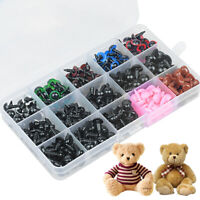 Various Eyes Safety Noses For Teddy Bear Toys Making Soft Toy Doll Animal Crafts
