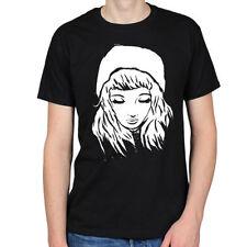 Cotton Patternless Tumblr Regular Size T-Shirts for Women