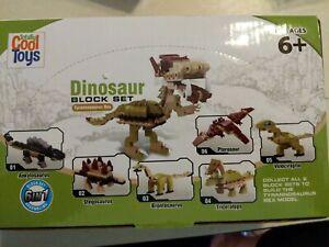 NIB 6-in-1 Educational Dinosaur Building Block Toys Creative Construction Set