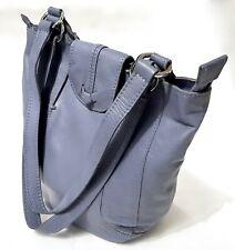HOTTER -Lilac Supple Quality Leather Shoulder Bag - Medium - Excellent Condition
