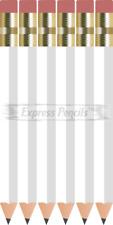 72 White Half short mini small Golf Hexagon #2 Pencils ExpressPencilsTM