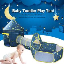 3in1 Spielzelt+Krabbeltunnel+Bällebad+Tasche Stern Kinderzelt Spielhaus Babyzelt